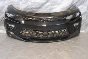 2016 CHEVROLET CAMARO SS V8 6.2L OEM COMPLETE FRONT BUMPER COVER *SCRATCHES#1299