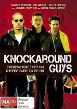 KNOCKAROUND GUYS - DVD - GOTTI MAFIA GANGSTER CRIME MOVIE - John Malkovich R4