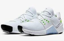 Nike Women's Free Metcon 2 Training Shoes White/Electric Green/Black 9 M