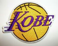 """Kobe Bryant Los Angeles Lakers Embroidered PATCH~3 1/2"""" x x 2 3/4""""~Iron or Sew"""