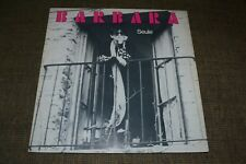 Barbara~Seule~1981 Chanson / French Pop~French IMPORT~Inner~FAST SHIPPING!!