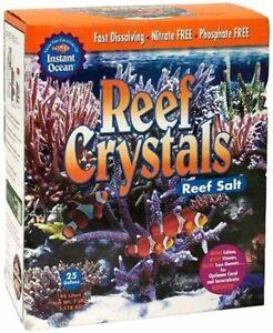 Instant Ocean Reef Crystals Reef Salt for 50 Gal Aquarium Enriched Formulation