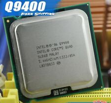 Intel® Core™2 Quad Processor Q9400   (6M Cache, 2.66 GHz, 1333 MHz FSB)