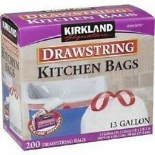 Kirkland Signature 50787 Kitchen 13 Gallon Trash Bags - 200 Count