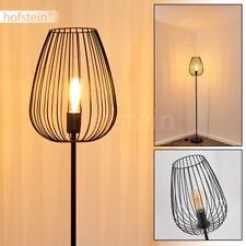 Lampadaire noir Retro Lampe de couloir Lampe sur pied Lampe de chambre à coucher
