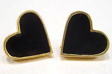 Mode-Ohrschmuck aus gemischten Metallen ohne Stein mit Herz-Schliff