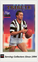 1995 Select AFL Trading Card Series 1 Tribute Card TC1 Tony Shaw (Collingwood)