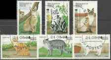 Timbres Chats Bénin 844/9 o lot 25486
