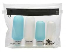 eagle creek Einfüllflasche Necessities Silicone Bottle Set Clear / Aqua