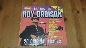 Roy Orbison – The Best Of Roy Orbison Vinyl LP Compilation 33rpm 1975 ADE P 19