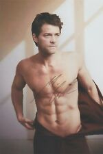 """Misha Collins (Robe Off) Supernatural """"Castiel"""" EXTREMELY RARE SIGNED RP 8x10!!!"""