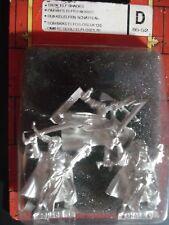 Warhammer Dark Elves Elf Shades Sealed Blister Metal OOP 85-52