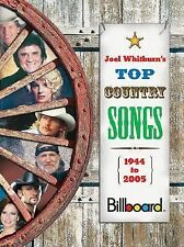 Top Country Songs 1944 to 2005 by Joel Whitburn (2006, Hardcover)