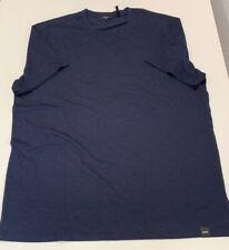 DKNY Navy Blazer blue Mens T-shirt Tee NEW w/o TAGS XL X-LARGE cotton/Modal