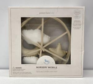NEW Pottery Barn KIDS Stars & Moons Musical Crib Mobile~Twinkle Little Star
