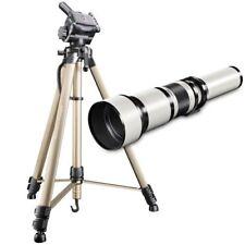 Objectifs téléobjectifs manuels pour appareil photo et caméscope Nikon F