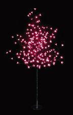 200 LED 1.5M Pink Solar Cherry Blossom Christmas Outdoor Tree