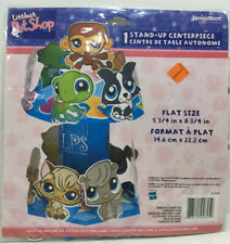 Littlest Pet Shop Party Supplies- 1 Stand-Up Centerpiece -New In Package!
