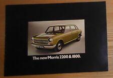 Morris 1800 & 2200 brochure c1972?