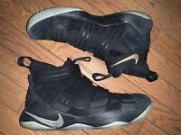 Nike Zoom LeBron Soldier 11 XI  'Finals' Shoes Men's Size 8.5 Black 897646-002
