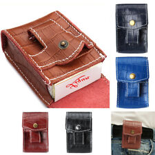 FIREDOG Portable Leather Cigarette Tobacco Pipe Pouch Purse Case Bag Holder