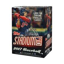 Topps Stadium Club 2017 Baseball Blaster Box - 8 Packs