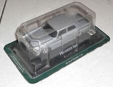 Auto PEUGEOT 404 - DEL PRADO NUOVA Scale Model 1/43 Box metal die cast