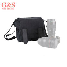 Camera canvas bag  SLR single shoulder bag micro single package for Canon nikon