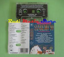 MC SANREMO 90 compilation CUTUGNO CASELLI OXA LENA BIOLCATI MANGO MARCELLA no cd