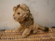 Vintage Lion Soft Teddy Bear Steiff glass eyes