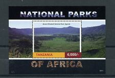 Tanzania 2015 MNH National Parks of Africa 1v S/S Queen Elizabeth Nt Park Stamps