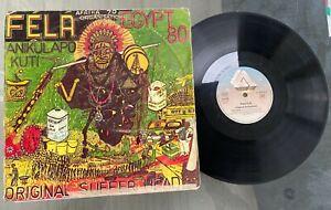 "Fela Anikulapo-Kuti ""Original Sufferhead"" 1981 Afrobeat LP Arista France"