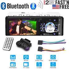 "4.1"" Hd Single 1Din Car Stereo Video Mp5 Player Bluetooth Fm Radio Aux Usb Sd"