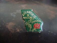 """Atlanta, Macon, Savannah---Georgia---Pin---3/4"""""""