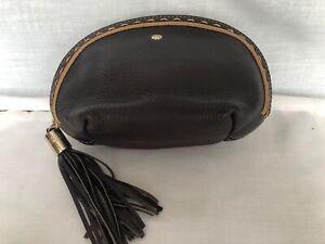 Lancel Leather Small Bag, Pouch, Makeup Bag