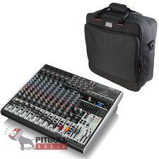 Behringer Xenyx X1832USB 18-Input USB Live Sound Audio Mixer + Gator Carry Bag