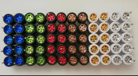 Hot Wheels Lot Of 30 Real Riders Tires for Custom Car 1/64 Diecast Mix Colours