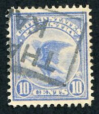*PJ's F1 used-XF w/ part boxed cancel outline from Kansas - Beauty!  #2481