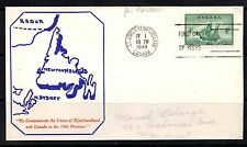 Newfoundland and Labrador First Day Cover Canadian Stamps