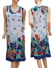 Polyester Tunic Hand-wash Only Floral Dresses for Women