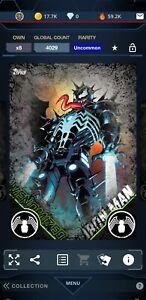 Topps Marvel Collect DIGITAL VENOMIZED IRON MAN