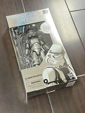 FEB208608: Star Wars The Black Series Carbonized Stormtrooper Action Figure