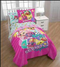 5p Shopkins Better Together Twin/Full Comforter & Sheet  Bedding Set Reversible