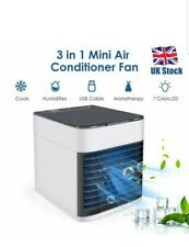 MINI AIR CONDITIONING UNIT COOLING FAN LOW NOISE COLD WATER TRAVEL HOME COOLER