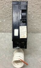 CROUSE HINDS MH MH120GF 1 POLE 20 AMP 120 VOLT GROUND FAULT CIRCUIT BREAKER
