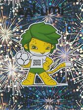 N°029 OFFICIAL MASCOT ZAKUMI # STICKER PANINI WORLD CUP SOUTH AFRICA 2010