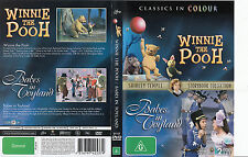 Babes In Toyland:Shirley Temple Storybook Collection-1960/Winnie The Pooh-2 DVD