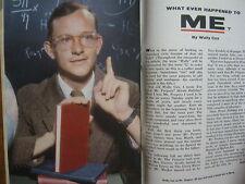 1961 TV  Guide (DISNEYLAND/PETER  GUNN/VALERIE  ALLEN/LOLA  ALBRIGHT/WALLY  COX)