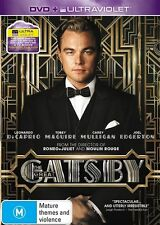 The Great Gatsby (DVD, 2013, 2-Disc Set) VGC Pre-owned (D85)