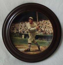 """Framed Cardinals -Rogers Hornsby """"The .424 Season"""" Delphi Collector Plate 1993"""